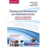Tehnologia Informatiei si a Comunicatiilor - Caiet pentru clasa a V-a