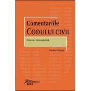 Comentariile Codului civil. Posesia. Uzucapiunea