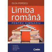 Limba romana pentru gimnaziu. Fonetica, Vocabular, Morfologie, Sintaxa