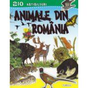 Animale din Romania. 210 abtibilduri