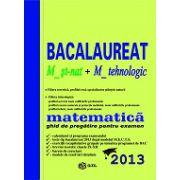 Bacalaureat 2013 matematica, M_st-nat + M_tehnologic