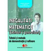 Inegalitati matematice. Extinderi şi generalizari