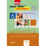 Mate 2000 pentru clasa a VI-a - Partea a II-a, CONSOLIDARE. Matematica, algebra, geometrie