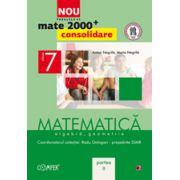 Mate 2000 pentru clasa a VII-a - Partea a II-a, CONSOLIDARE. Matematica, algebra, geometrie