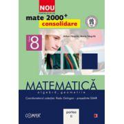Mate 2000 pentru clasa a VIII-a - Partea a II-a, CONSOLIDARE. Matematica, algebra, geometrie