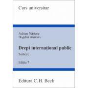 Drept international public. Sinteze. Editia 7