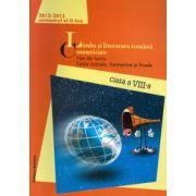 Limba si literatura romana. Comunicare. Fise de lucru, teste initiale, formative si finale. Clasa a VIII-a, semestrul al II-lea - 2012-2013