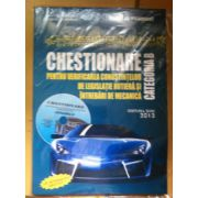 Chestionare auto categoria B - 2013. Contine CD interactiv