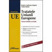 Tratatele Uniunii Europene. 2013