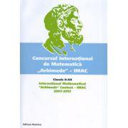 Concursul international de matematica ''Arhimede'' - Clasele II-XII