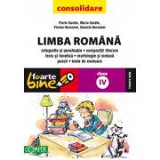 Limba Romana pentru clasa a IV-a. Consolidare 2013