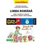 Limba Romana pentru clasa a II-a. Consolidare 2013