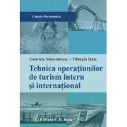 Tehnica operatiunilor de turism intern si international