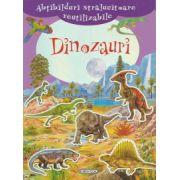 Abtibilduri stralucitoare reutilizabile, Dinozauri