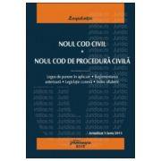 Noul Cod civil. Noul Cod de procedura civila. Actualizat 5 iunie 2013