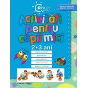 Activitati pentru copii mici, 2-3 ani