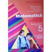 Matematica - Exercitii si probleme, clasa a V-a, semestrul 1