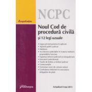 Noul cod de procedura civila si 12 legi uzuale. Actualizat 8 mai 2013
