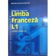 Limba franceza L1, manual pentru clasa a X-a - Mariana Popa