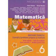 Matematica. Breviar teoretic cu exercitii si probleme rezolvate, pentru clasa a VI-a