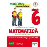 Mate 2013 Consolidare - Algebra, geometrie. Cls. VI-a partea 1