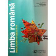 Limba romana, manual pentru clasa a VI-a - Sofia Dobra