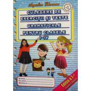 Culegere de exercitii si texte gramaticale pentru clasele 1-4