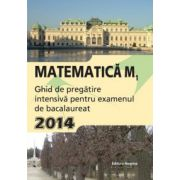 Matematica M1, bacalaureat 2014. Ghid de pregatire