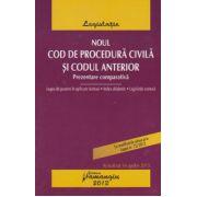 Noul Cod de procedura civila si Codul anterior. Prezentare comparativa. Actualizat 16 aprilie 2013