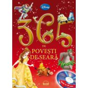 365 de povesti de seara (contine CD audio)