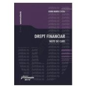 Drept financiar. Note de curs