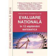 Pregatirea examenului de Evaluare Nationala 2014 in 12 saptamani. Matematica