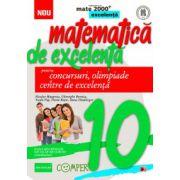 Matematica de excelenta pentru concursuri, olimpiade si centrele de excelenta. Clasa a X-a
