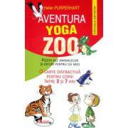 Aventura Yoga Zoo. Pozitii ale animalelor si jocuri pentru cei mici