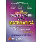 158 de teste pentru Evaluarea Nationala 2014. Matematica clasa a VIII-a