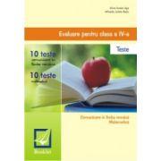 Evaluare pentru clasa a IV-a. Teste (20 de teste)