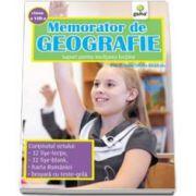 Memorator de geografie pentru clasa a VIII-a (Elena-Simona Albastroiu)