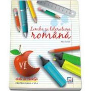 Limba si literatura romana caiet de vacanta pentru clasa a VI-a