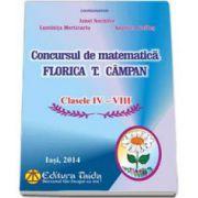 Concursul de matematica Florica T. Campan pentru clasele IV-VIII