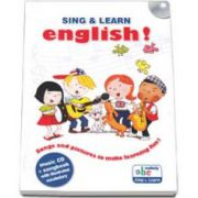 Sing and learn English ! - Music CD and songbook with illustrated vocabulary
