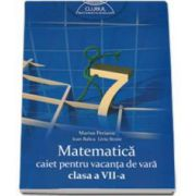 Matematica caiet pentru vacanta de vara clasa a VII-a. Clubul matematicienilor