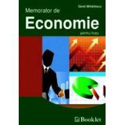Memorator de Economie pentru liceu
