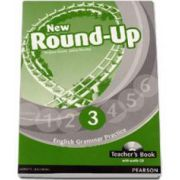 New Round Up Level 3 - English Grammar Practice Teachers Book. With Audio CD