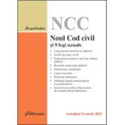 Noul Cod civil şi 9 legi uzuale, actualizat 31 martie 2014