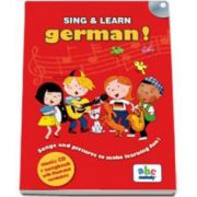 Sing and learn German ! - Music CD and songbook with illustrated vocabulary