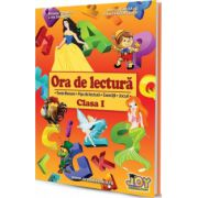 Ora de lectura, clasa a I-a. Texte literare, fise de lectura, exercitii, jocuri
