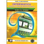 Informatica pentru liceu si bacalaureat. Profilul Matematica-Informatica clasa a X-a, Intensiv varianta C++