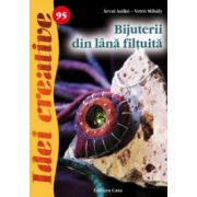 Bijuterii din lana filtuita