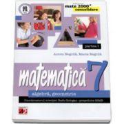 Matematica 2000 CONSOLIDARE 2014-2015 algebra, geometrie clasa a VII-a partea I