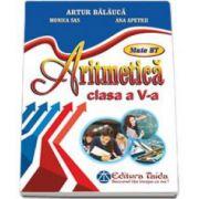 Aritmetica pentru clasa a V-a. Auxiliar de aritmetica - Artur Balauca